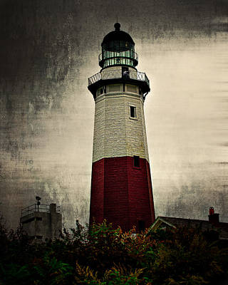 Thomas Kinkade Royalty Free Images - Montauk Point Light Royalty-Free Image by John Sotiriou