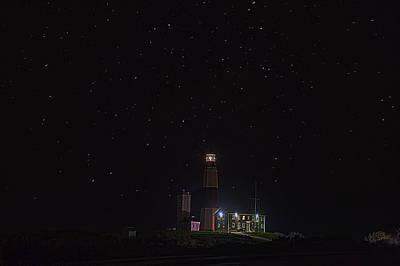 Photograph - Montauk Starry Night by William Jobes
