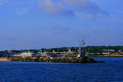 Photograph - Montauk West Jetty And Gosmans by Christopher Kirby