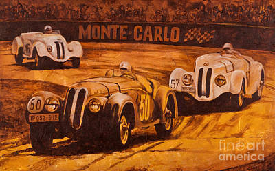 Painting - Monte-carlo 1937 by Igor Postash