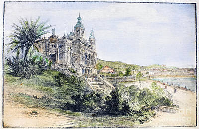 Monte Carlo Casino, 1884 Art Print by Granger