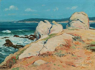 California Coast Painting - Monterey Coast by Guy Rose