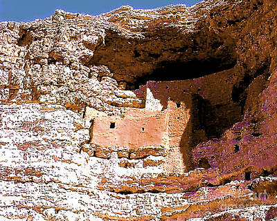 Photograph - Montezumas Castle Arizona by Merton Allen