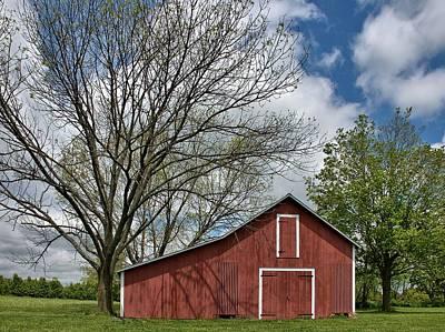 Sky Photograph - Montgomery Barn by Steven Richman