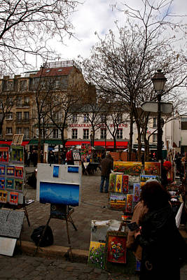 Photograph - Montmartre by Van Corey
