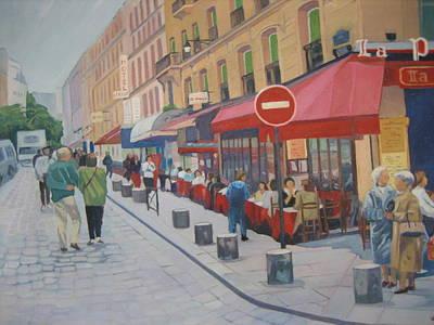 Montparnesse Art Print by D Marie LaMar