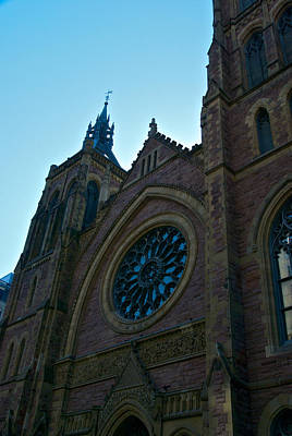Montreal Streets Photograph - Montreal Church by Mike Horvath