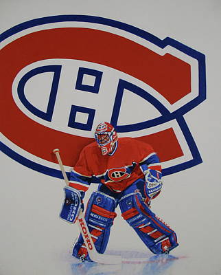 Canadian Sports Mixed Media - Montreal by Cliff Spohn