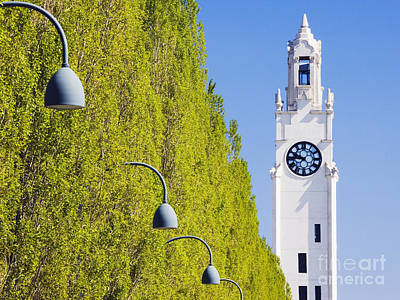 Montreal Landmarks Photograph - Montreal Clock Tower Or Sailors Memorial Clock by Jeremy Woodhouse