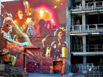 Montreal Mixed Media - Montreal Mural By Art Du Commun  by Contemporary Luxury Fine Art