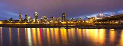 Lachine Photograph - Montreal Panorama by Mircea Costina Photography