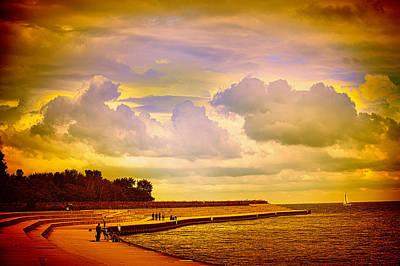 Photograph - Montrose Pier by Milena Ilieva