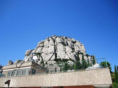 Photograph - Montserrat Mountain Top View Spain by John Shiron