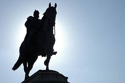 Photograph - Monument German Emperor Wilhelm I. Karlsplatz Stuttgart by Matthias Hauser