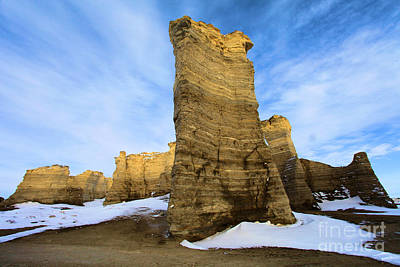 Photograph - Monument Rocks by Adam Jewell