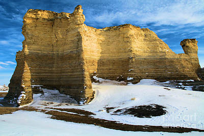 Photograph - Monument Rocks Castle by Adam Jewell