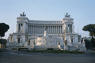 Monument To King Victor Emmanuel II Print by Taylor S. Kennedy