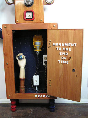 Monument To The End Of Time Inside. Original by Bill Czappa