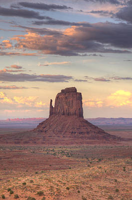 Photograph - Monument Valley - East Mitten Butte by Saija  Lehtonen
