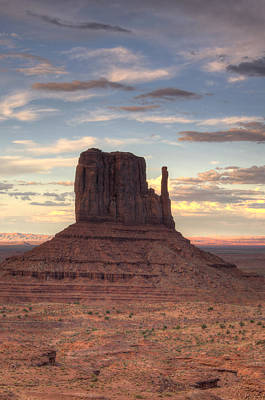 Photograph - Monument Valley - West Mitten Butte by Saija  Lehtonen