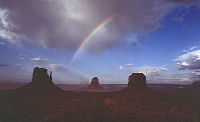 Photograph - Monument Valley 2 by Mark Greenberg