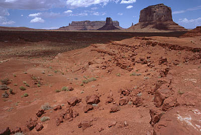 Photograph - Monument Valley 6 by Mark Greenberg