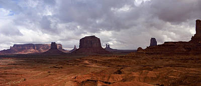 Photograph - Monument Valley by Ellen Heaverlo