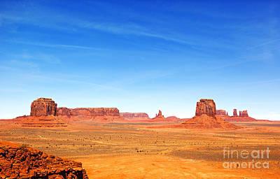 Native Stone Photograph - Monument Valley Landscape by Jane Rix