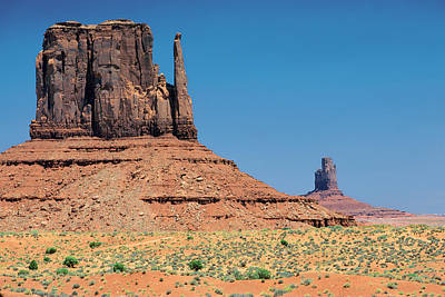 Photograph - Monument Valley by Mark Greenberg