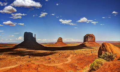 Photograph - Monument Valley by Saija  Lehtonen