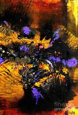 Mica Mixed Media - Mood Altering Experiences II by Angela L Walker