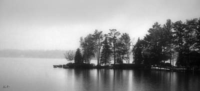 Vermont Photograph - Mood Lake New England by April Bielefeldt