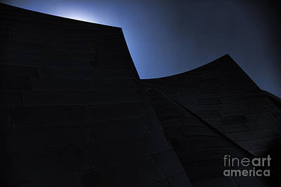 Disney Music Hall Photograph - Moods  Architecture by Chuck Kuhn