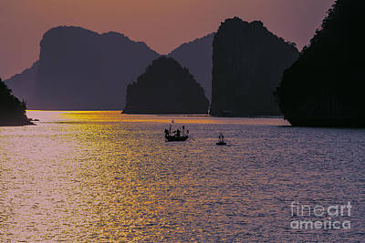 Ha Long Bay Photograph - Moods Ha Long Bay by Chuck Kuhn
