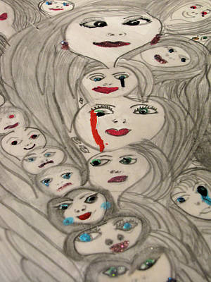 Moods Art Print by HollyWood Creation By linda zanini