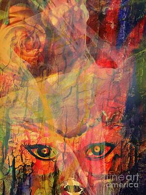 Abstract Sights Mixed Media - Moods In A Period by Fania Simon
