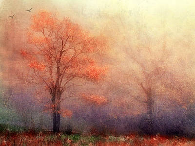 Moods Of Autumn Art Print