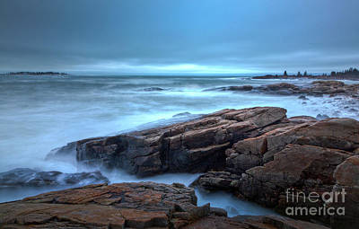 Photograph - Moody Coast by Susan Cole Kelly