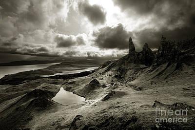 Moody Isle Of Skye Art Print