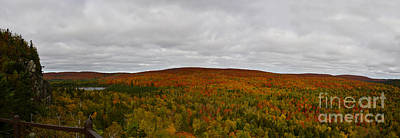 Lake Superior Art Gallery Photograph - Moody Oberg Mountain by Whispering Feather Gallery