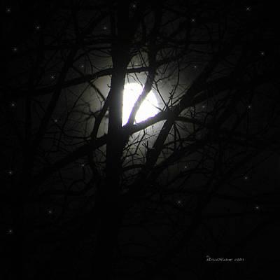 Photograph - Moon by Ericamaxine Price