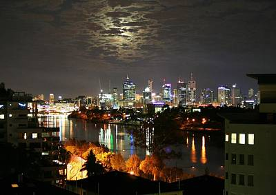 Photograph - Moon Light Lace Of Brisbane by Kelly Nicodemus-Miller