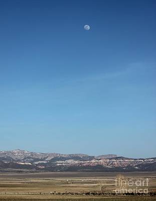 Photograph - Moon Over Utah by Erica Hanel