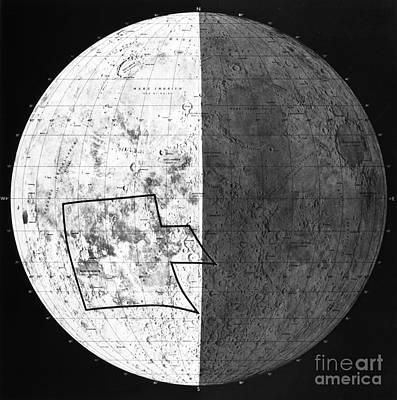 Photograph - Moon: Ranger 7, 1964 by Granger