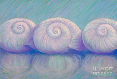 Pastel - Moon Shells by Audrey Peaty