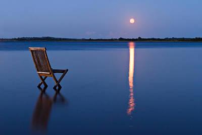 Photograph - Moon View by Gert Lavsen