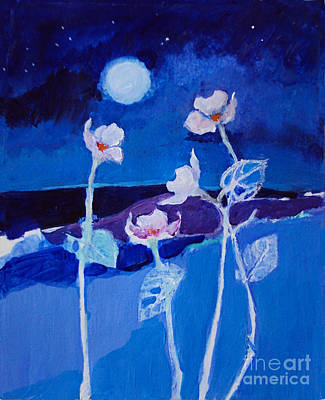 Painting - Moon Worship by Diane Ursin