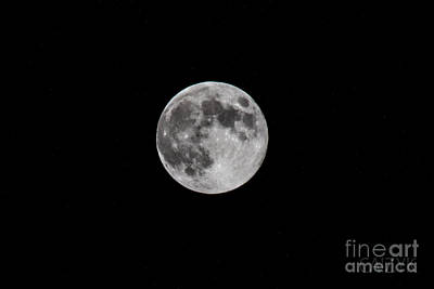 Photograph - Moon1 by Cazyk Photography