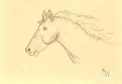 Moonbeam Sketch Art Print