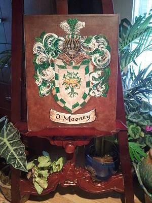 Mooney Crest Original by Nancy Rutland